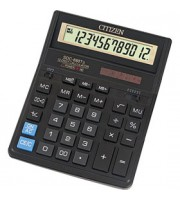 Калькулятор настольный 12 разрядов CITIZEN SDC-888T, 159х205х27мм, черный