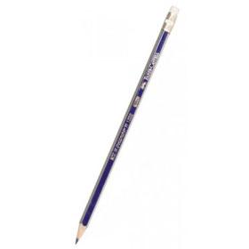 Карандаш чернографитовый FABER-CASTELL Goldfaber 1222 HB, с ластиком