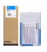 Картридж струйный Epson C13T614200 голубой повышенной емкости оригинальный