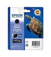 Картридж струйный Epson C13T15714010 фото черный повышенной емкости оригинальный