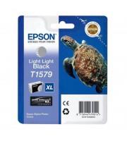 Картридж струйный Epson T1579 C13T15794010 светло-серый оригинальный