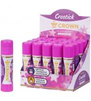 """Клей-карандаш Crown """"Indicator"""", 15г, с цветным индикатором"""