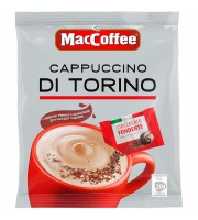 Кофе порционный растворимый MacCoffee Cappuccino di Torino 20 пакетиков по 25.5 г