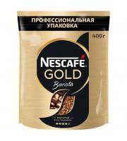 Кофе растворимый Nescafe Gold Barista 400 г (пакет)