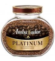 Кофе растворимый Ambassador Platinum 95 г (стекло)