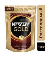 Кофе растворимый Nescafe Gold 190 г (пакет)