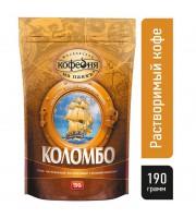 Кофе растворимый Московская кофейня на паяхъ Коломбо 190 г (пакет)