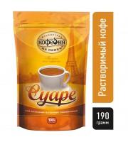 Кофе растворимый Московская кофейня на паяхъ Суаре 190 г (пакет)