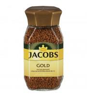 Кофе растворимый Jacobs Gold 95 г (стекло)