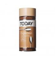 Кофе растворимый Today Espresso 95 г (стекло)