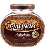 Кофе растворимый Ambassador Platinum 190 г (стекло)