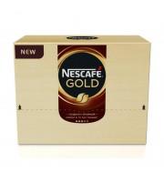 Кофе порционный растворимый Nescafe Gold 30 пакетиков по 2 г