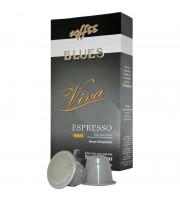 Капсулы для кофемашин Blues Viva (10 штук в упаковке)