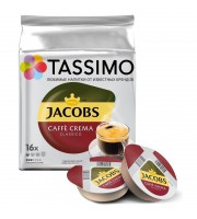 Капсулы для кофемашин Tassimo Caffe Crema (16 штук в упаковке)