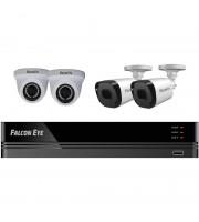 Комплект видеонаблюдения Falcon Eye FE-104MHD KIT Офис smart