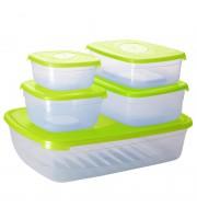Набор контейнеров для СВЧ Galaxy 5 предметов пластик ПЦ2226
