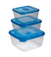 Контейнеры Polar (пластиковые, форма квадратная)
