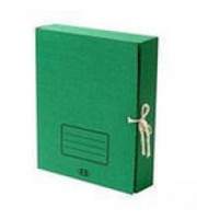 Короб архивный 75мм, завязки, картон, ассорти