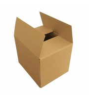 Короб картонный 305х215х160 мм бурый гофрокартон Т-22 профиль B (10 штук в упаковке)