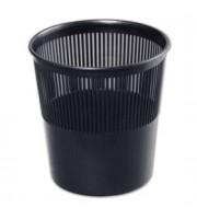 Корзина для бумаг 9л, решетчатая, черный