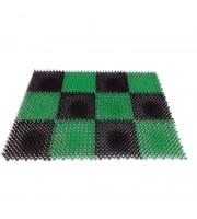 Коврик для вытирания ног для помещений York Травка (420x560x10 мм)