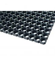 Резиновое покрытие универсальное черное (500х1000х14 мм)