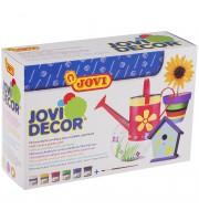 Краски акриловые JOVI, 06 цветов, с кистью, 55мл, картон