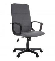"""Кресло руководителя Helmi HL-E26 """"Segment"""", ткань серая"""