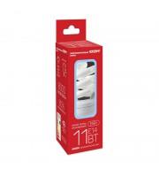 Лампа энергосберегающая Старт 11 Вт цоколь E14 спираль (холодный белый свет)