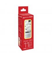 Лампа энергосберегающая Старт 11 Вт цоколь E14 спираль (теплый белый свет)