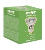 Лампа галогенная Старт 35 Вт цоколь GU10 (белый свет)