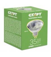 Лампа галогенная Старт 35 Вт цоколь GU5.3 (теплый свет)