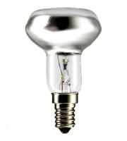 Лампа накаливания 60Вт E14 R50 PHILIPS, рефлекторная
