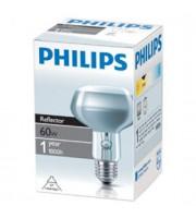 Лампа электрическая Philips рефлект. R80 60W E27 25D (30)