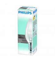 Лампа накаливания Philips 40 Вт цоколь E14 свеча (белый свет)