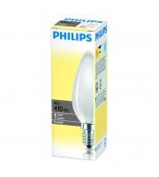 Лампа накаливания Philips 40 Вт цоколь E14 свеча (теплый свет)