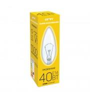 Лампа накаливания Старт 40 Вт цоколь E14 свеча (теплый свет)