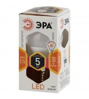 Лампа светодиодная LED Эра 5 Вт цоколь E14 (теплый свет)