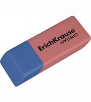 Ластик ERICH KRAUSE Hybrid, 54х18х7,5мм, комбинированный