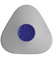 Ластик ERICH KRAUSE Smart&Soft mini, 50х50х8мм, треугольный, белый