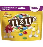 Драже M&M's с арахисом 360 г