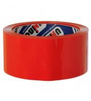 Клейкая лента упаковочная Unibob, 48мм*66м, 45мкм, красная