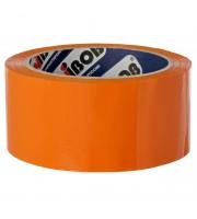 Клейкая лента упаковочная Unibob, 48мм*66м, 45мкм, оранжевая