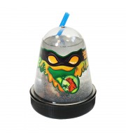 """Слайм Slime """"Ninja. Затерянный мир"""", с фигуркой ящерицы, прозрачный, 130г"""
