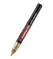 Маркер пеинт (лак) EDDING E-791 1-2мм, золотой