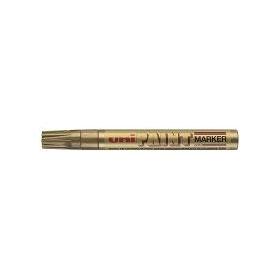 Маркер пеинт (лак) UNI PX-20 2,2-2,8мм, мет. корп., золото