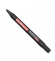Маркер перманент ERICH KRAUSE P-300 0,7-4мм скошенный наконечник, черный