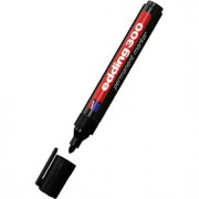 Маркер перманент EDDING E-300 1,5-3мм круглый наконечник, черный