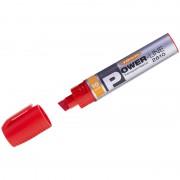"""Маркер перманентный промышленный Line Plus """"PER-2610"""" красный, скошенный, 10мм"""