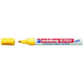 Маркер для промышленной графики EDDING-8750 2-4мм, желтый